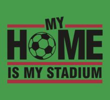 My home is my stadium Kids Clothes