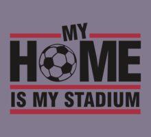My home is my stadium Kids Tee