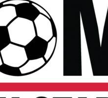 My home is my stadium Sticker