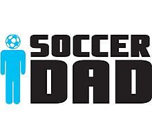 Soccer Dad Photographic Print
