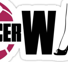 Soccer wife Sticker