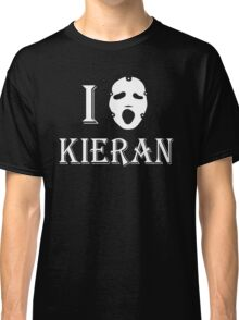 I love Kieran - White Classic T-Shirt