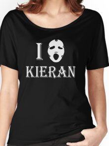 I love Kieran - White Women's Relaxed Fit T-Shirt