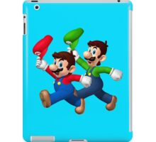 Mario and Luigi iPad Case/Skin