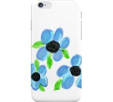Bubbling Blues iPhone Case/Skin