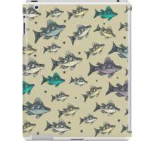 Flying Fish Khaki iPad Case/Skin