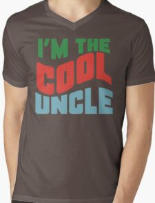 Im The Cool Uncle Mens V-Neck T-Shirt