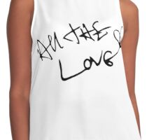 All The Love Harry Contrast Tank