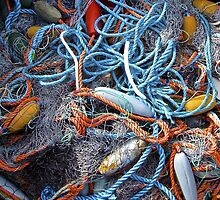 Fishing Nets, Floats and Ropes by John Thurgood