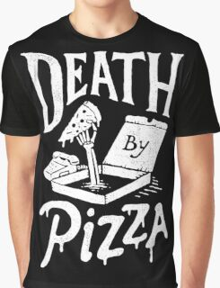 Death By Pizza Graphic T-Shirt