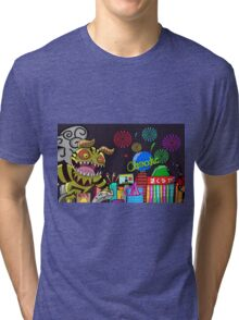 Monster in Paradise Tri-blend T-Shirt