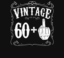 Vintage middle finger salute 62nd birthday gift funny 62 birthday 1954 Unisex T-Shirt