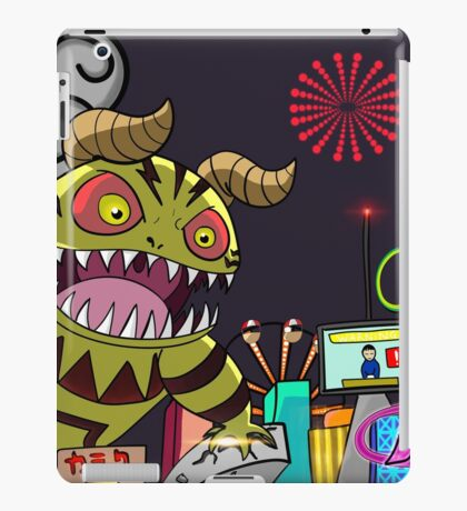 Monster in Paradise iPad Case/Skin