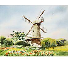 Dutch Windmill San Francisco Photographic Print