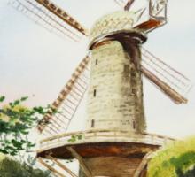 Dutch Windmill San Francisco Sticker
