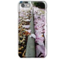 Petal Pink & Pebble Perspective iPhone Case/Skin