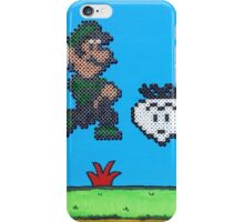 Luigi v Shy Guy (Paint 'N' Beads) iPhone Case/Skin