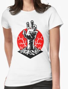 Hand of Doom Womens Fitted T-Shirt