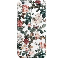 Floral and Butterflies II iPhone Case/Skin