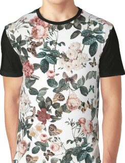 Floral and Butterflies II Graphic T-Shirt