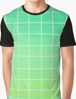 green gradient Graphic T-Shirt