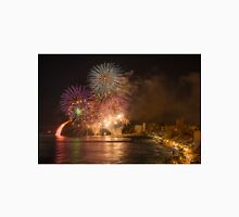 Fireworks at the Fiesta del Carmen 5 Unisex T-Shirt