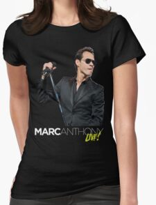 Dosep03 Marc Anthony En Concierto Live World  Tour 2016 Womens Fitted T-Shirt