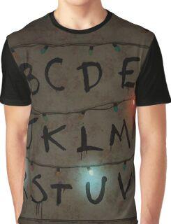 Stranger lights Graphic T-Shirt