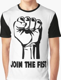Join The Fist Graphic T-Shirt