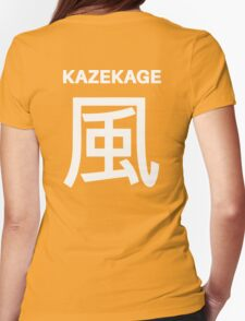 Kage Squad Jersey Kazekage Womens Fitted T-Shirt