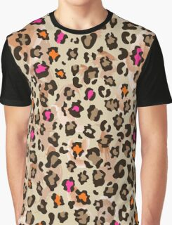 Animal pattern with neon color Graphic T-Shirt