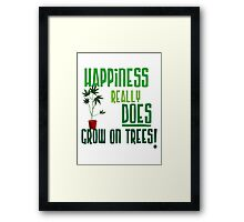 Weed Plant Funny  Framed Print