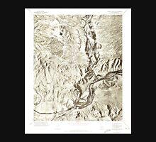 USGS TOPO Map Arizona AZ Granite Reef Dam 311549 1971 24000 Unisex T-Shirt