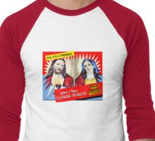 Jesus and Mary Cleaning Services Men's Baseball ¾ T-Shirt