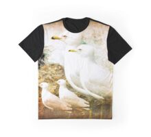 FAMILY OF SEAGULS Graphic T-Shirt