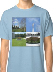 The Preston Temple Grounds in Spring and Summer Classic T-Shirt