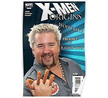 Guy Fieri/ Wolverine Mash up Poster