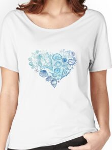 Heart of the shells. Women's Relaxed Fit T-Shirt