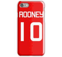 Rooney #10 iPhone Case/Skin