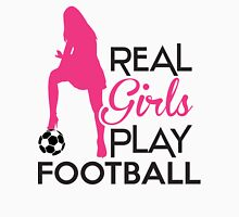 Real girls play football Tank Top