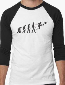 Evolution Football / Soccer Men's Baseball ¾ T-Shirt