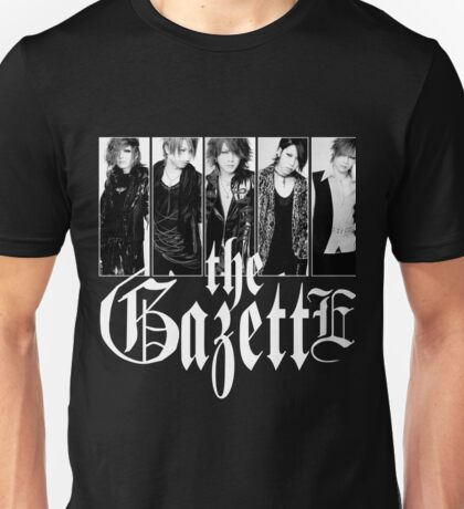 THE GAZETTE JAPAN ROCK BAND Unisex T-Shirt