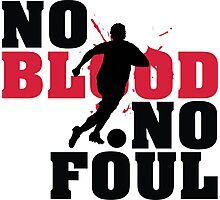 No blood, no foul Photographic Print