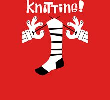 Knitting Unisex T-Shirt