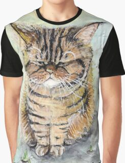 Missmutige Muffelkatze Graphic T-Shirt