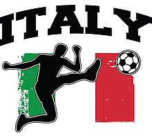 Italy Football / Soccer Photographic Print