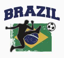 Brazil Football / Soccer One Piece - Long Sleeve