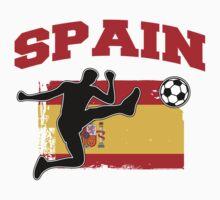 Spain Football / Soccer Kids Tee