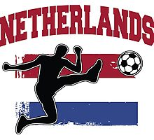 Netherlands Football / Soccer Photographic Print