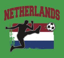 Netherlands Football / Soccer One Piece - Short Sleeve